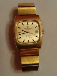 Vintage Omega Constellation Automatic Chronometer Certified works and keeps time