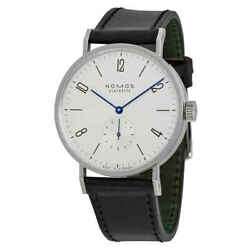 Nomos Tangomat Automatic White Dial Stainless Steel Men's Watch 601
