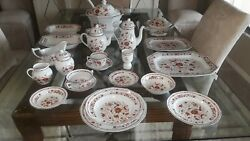 Wedgewood Kashmar Place Setting For 12 Including Serving China