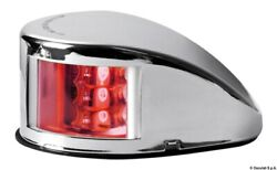 Osculati Mouse Deck Navigation Light Red Stainless Steel Body