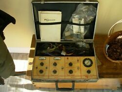 Vintage Auto A/c Test And Diagnosic Equipment By Robinair