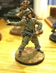 Professionally Painted Military Model Wwii German Soldier Grenade