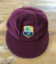 Player Issued - West Indies National Team Baggy Test Cricket Cap - C1990s Period