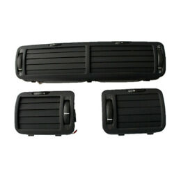 Abs Plastic Car Interior Front Dashboards Central Air Outlet Set For Passat B5