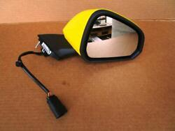 OEM 2015-2018 EURO Ford Mustang RH Passenger Side View Mirror Triple Yellow