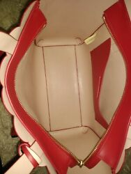 Red Kate Spade Designer Purse With Matching Wallett