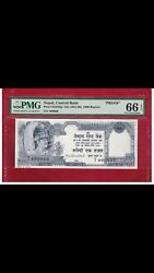 Nepal 1000 Rupees Nd1981 P 36 Proof Pmg 66 Never Seen