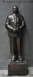 38 Chinese Bronze Revolution Great Leader Colossus Mao Zedong President Statue