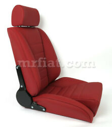 For Porsche 911 Sport S Seat Red Leather Basketweave New