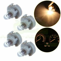 4Pcs T3 Neo Wedge halogen Bulbs Warm White A/C Climate lights 8MM  Lamp