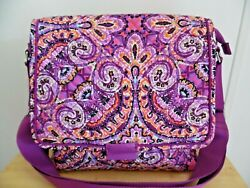 Vera Bradley Iconic Messenger in Dream Tapestry Excellent Condition $44.99