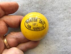 Morton Salt Advertising Plastic Vintage Spinning Top
