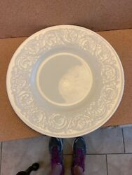 Wedgwood China Patrician Cream 10-1/2 Dinner Plate