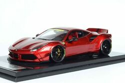 1/18 Ferrari 488 Liberty Walk Red Wine Metallic #07/10 VERY RARE