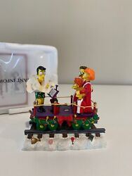 A Caroling Surprise - The Simpsons Christmas Express Train Hamilton Collection