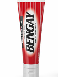 New- Bengay Ultra Strength Pain Relieving Cream 4 Oz- Muscle, Joint, Back Ache