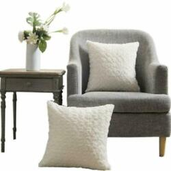 Lananas Luxury Soft Plush Faux Fur Throw Pillow Covers For Couch Decorative Mong