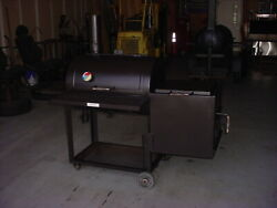 Bbq Smoker With Side Grill