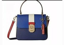 New With Tags Aldo Uniongap 4 Satchel Purse Bag Handbag Blue $35.00