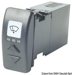 Osculati Carling Switch For 2 Ws Wipers