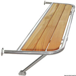 Osculati Stainless Steel Stern Platform For Sailing Boats 1090x600x25