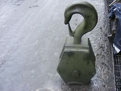 Genuine Atlas Crane Hook Block 2 Reeve Also Fits Foden Recovery Truck