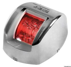 Osculati Mouse Navigation Light Red Stainless Steel Body