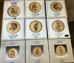 Hummel Annual Plates - 16 Plates - Years 1971 - 1988 Missing 1987