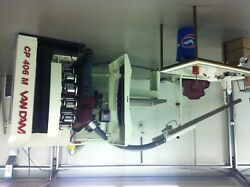 (2011) Van Dam CP406M 6 color cup printer with infeed option
