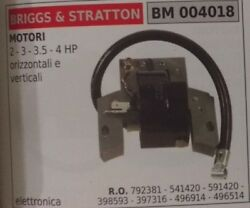 792381 541420 591420 398593 Coil Engine Briggs And Stratton 2hp 3hp 3.5hp 4hp