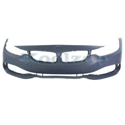 14-17 4-series W/o M Sport Front Bumper Cover Assembly W/side View Camera Hole