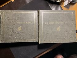 The Great Explorers Medals Two Books