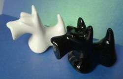 Scottish Terrier Scottie breed of Dog Ceramic Salt & Pepper Shakers Decor Animal