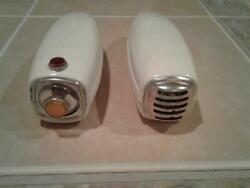 Delta Winner Bicycle Headlight/light/ And Horn Set/nos/1950's/vintage