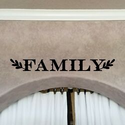 Family Removable Matte Vinyl Sticker Wall Decal Black 22quot;