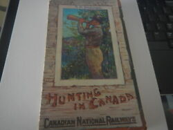 Hunting In Canada By Canadian National Railways [from Old Ca Original