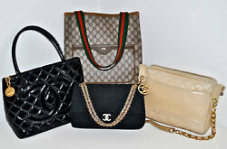 Wholesale Lot x 4 Luxury Designer Handbag Bag CHANEL GUCCI Guaranteed Authentic