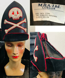 Sleepy Hollow Movie Headless Horseman Pirate Hat Worn By Rob Inch Collectible