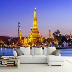 3d Thai Palace Building Modern Wall Mural Wallpaper Living Room Bedroom Lounge
