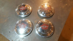 Nos 1931 Willys Eight 8 Hubcaps Free U.s. Shipping