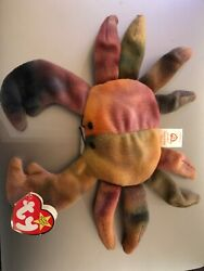 ty beanie babies claude the crab 1996