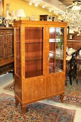 French Antique Display Cabinet   Living Room Furniture