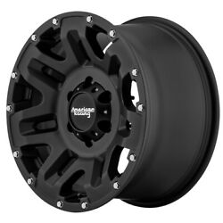 AMERICAN RACING AR200 Yukon Rim 20X9 5x135 Offset 0 Cast Iron Black (Qty of 4)
