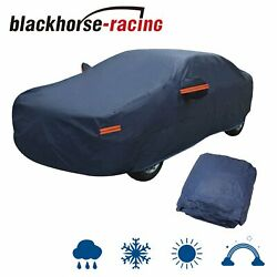 Full Car Cover Waterproof Uv Dust Rain Snow Ice Resistant All Weather Protection