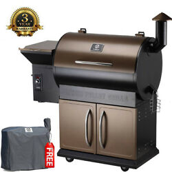 Z Grills Wood Pellet Bbq Smoker Grill With 2021 Newest Digital 8-in-1 Grill