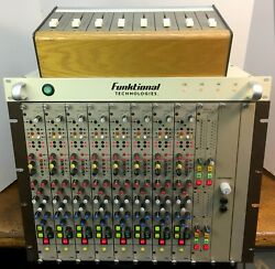 """Cadac 8 Channel Mic Pre Eq Input x 4 Output / 8x4 """"G Type"""" Submixer"""