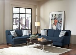 Coasters Furniture Finley Sofa And Loveseat Living Room
