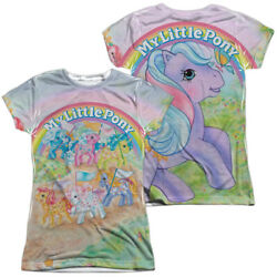 My Little Pony Classic Licensed Womenand039s Junior Graphic Tee Shirt Large