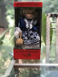 """Classic Collection Limited Edition 2001 12"""" Bisque Porcelain Doll With Box"""