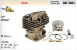 4223.020.1200 Cylinder And Piston Chainsaw Stihl 026 Ms260 Ms 260 Ø 1 23/32in